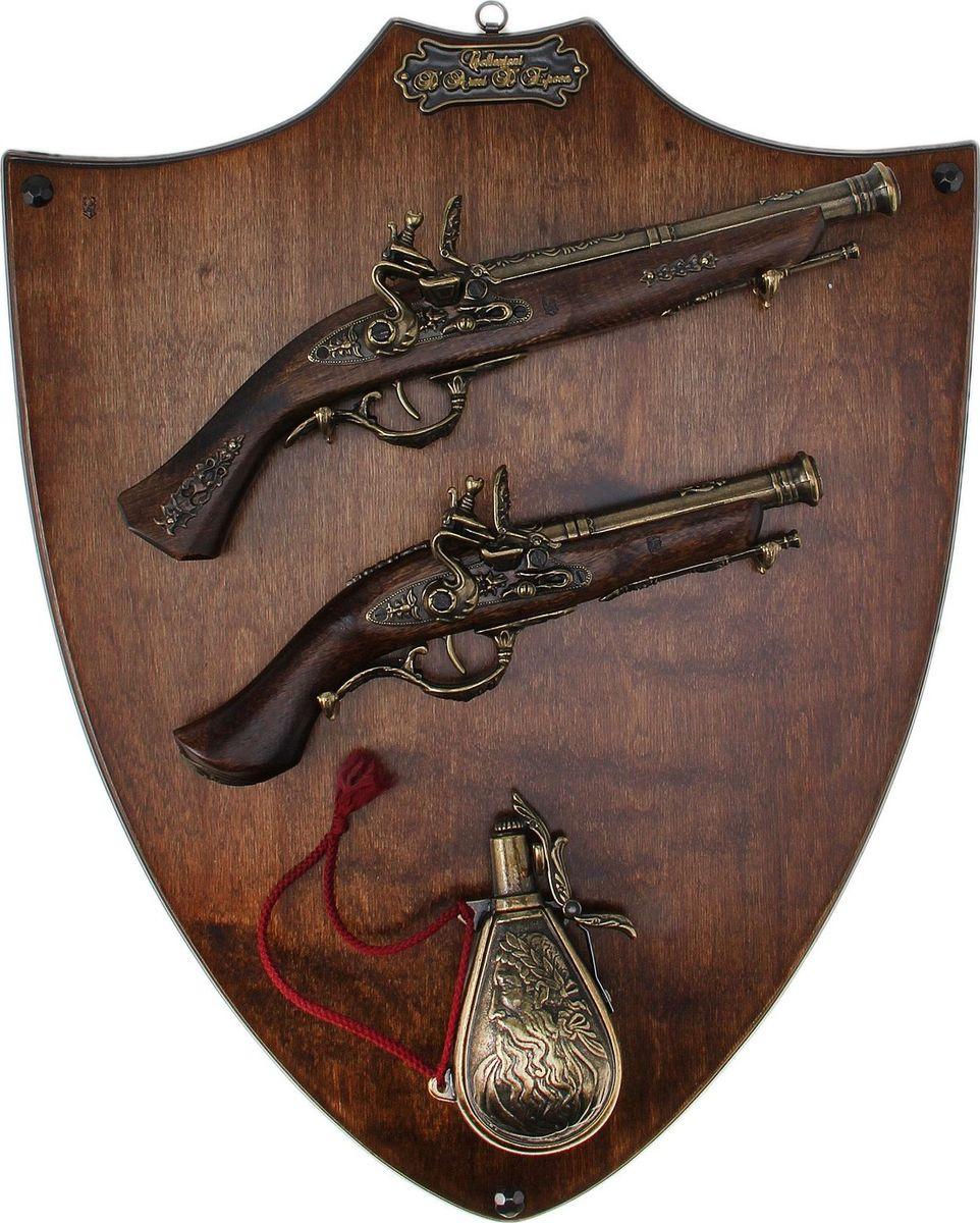 Сувенирное оружие Medio Evo 2 пистоля и пороховница, на планшете, 60 х 47 х 8 см прогулочные коляски aroteam medio