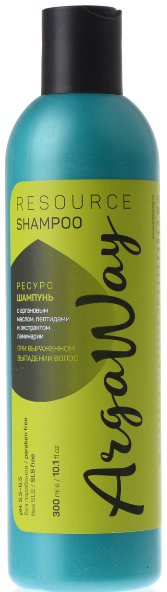 Argaway Ресурс-Шампунь с аргановым маслом, пептидами и экстрактом ламинарии, при выраженном выпадении волос, 300 мл4631111171394Шампунь с аргановым маслом, пептидами и экстрактом ламинарии при выраженном выпадении волос. Аргановое масло и глутаминированные пептиды интенсифицируют микроциркуляцию в корнях волос, пробуждая спящие волосяные фолликулы, ускоряют обмен веществ в коже головы и повышают скорость переноса кислорода к корням волос. Экстракт ламинарии регулирует кислотно-щелочной и водный балансы, что значительно улучшает состояние кожи и корней волос. Останавливают выпадение и способствуют активному росту волос.