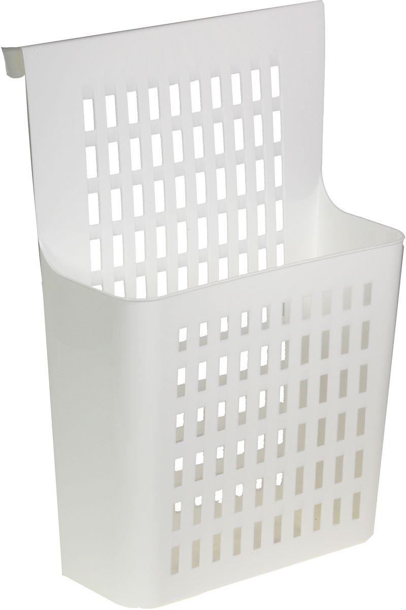 Корзина подвесная Idea, на дверьМ 1592Корзина подвесная Idea, выполненная из полипропилена, станет полезным приспособлением для дома! Корзина навешивается изнутри на дверцу шкафа, выдвижной ящик, рейлинг, существенно экономит пространство. Удобна для хранения средств бытовой химии, хозяйственных мелочей и многого другого. Вместительная и прочная.