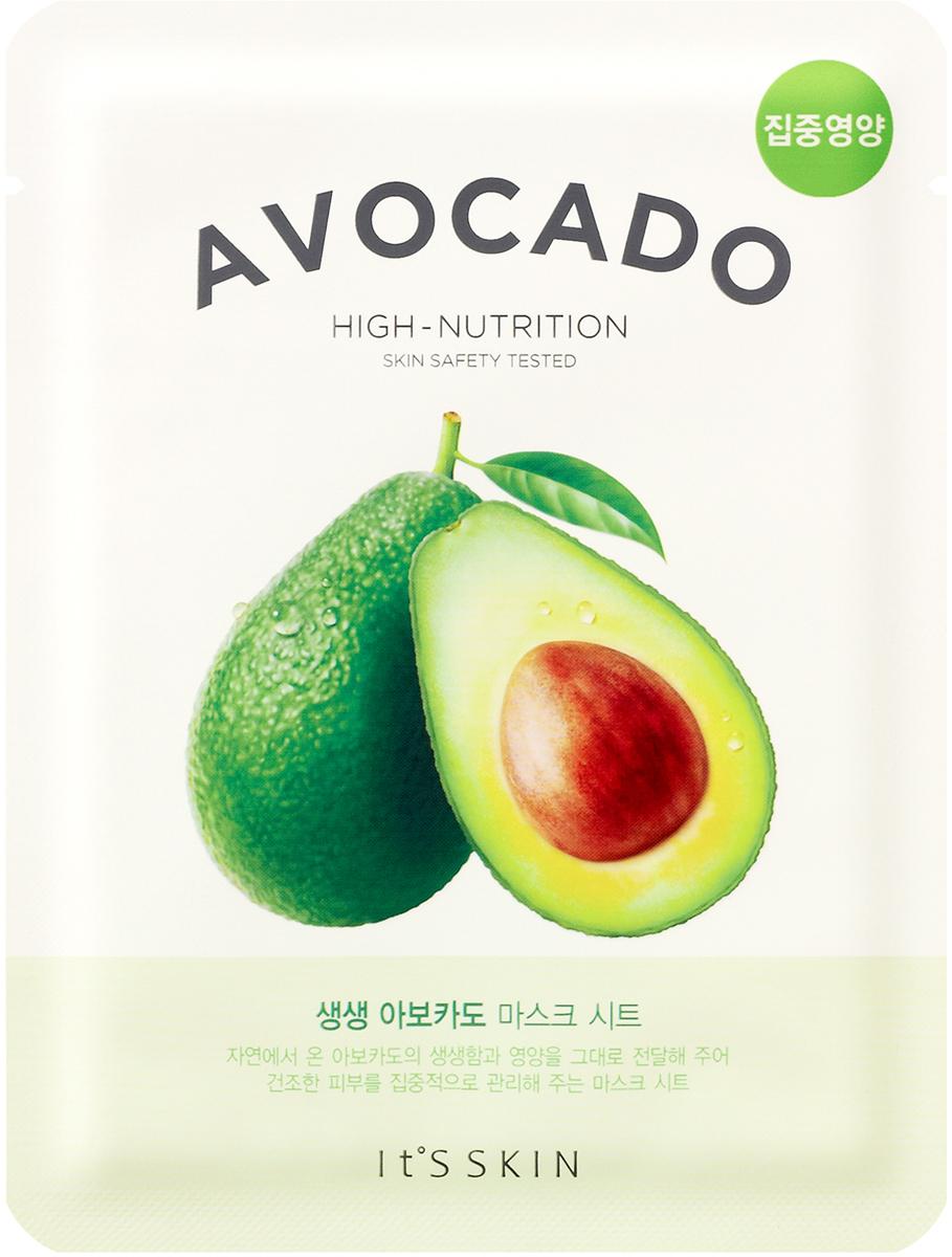 It's Skin СмягчающаятканеваямаскаThe Fresh,авокадо,21 г тканевая маска ninelle botox therapy коллагеновая маска с авокадо объем 29 г