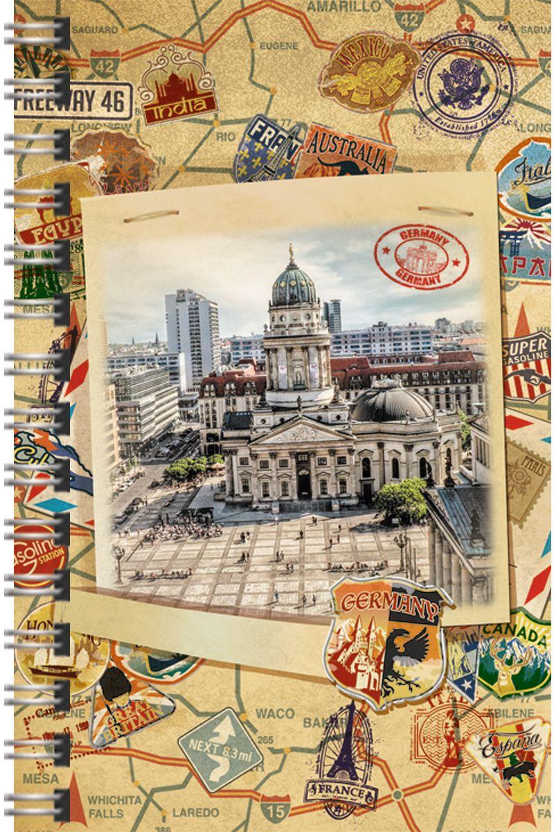 Канц-Эксмо Тетрадь Путешествие по Германии 120 листов в клетку -  Тетради