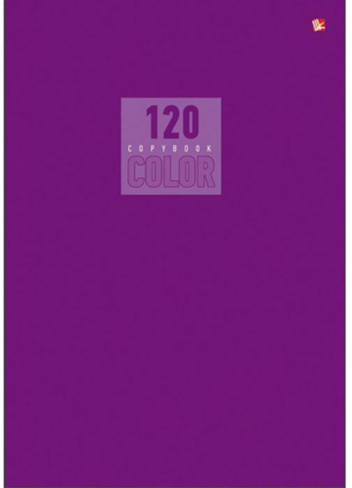 Канц-Эксмо Тетрадь Стиль и цвет 120 листов в клетку формат А4Т41205190Тетрадь А4 120л. Швейное клеевое крепление. Клетка. Обложка - импорт. мелованный картон повыш качества, матовая ламинация, бумага офсетная 60 г/м2. он Стиль и цвет. Лиловый А4