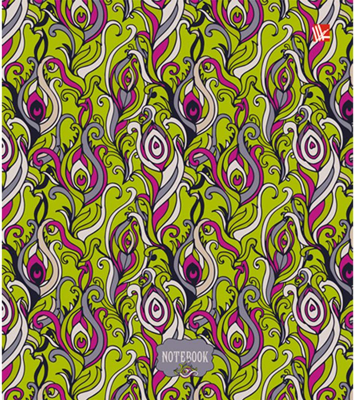Канц-Эксмо Блокнот Удивительные узоры 120 листов в клетку формат А5- блокнот серия natural формат а5 140 стр темно бордовый в клетку
