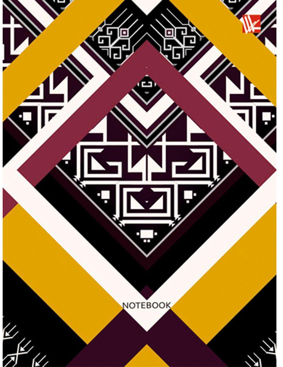 Канц-Эксмо Блокнот Орнамент Этнический узор 64 листа канц эксмо блокнот цветы нежность 64 листа