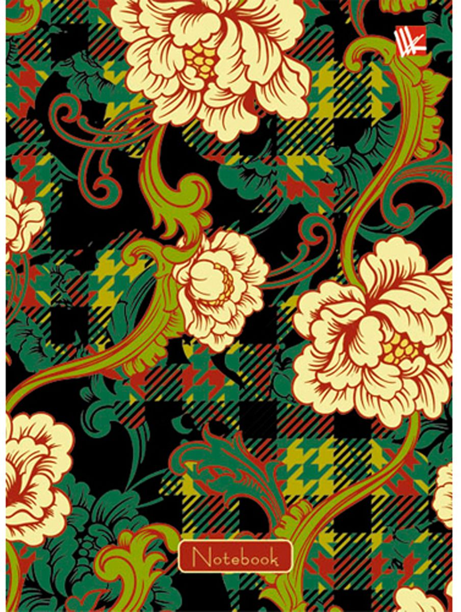 Канц-Эксмо Блокнот Орнамент Пышные цветы 64 листа в клетку формат А6КЗ6642122Блокнот для записей Канц-Эксмо Орнамент. Пышные цветы формата А6(110х145) великолепно подойдет для записей, заметок и зарисовок. Блокнот имеет сшитый внутренний блок из белой офсетной бумаги плотностью 60гр/м2 с разметкой в клетку. Твердый переплет с глянцевой ламинацией дополнен белыми форзацами.