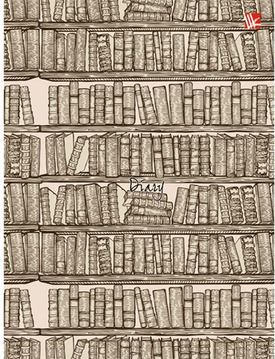 Канц-Эксмо Ежедневник Графика Книги недатированный 112 листов формат А6+ книги эксмо почувствуй опасность