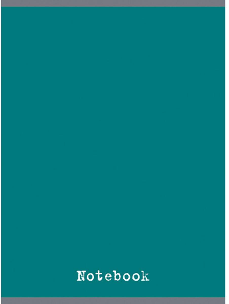 Канц-Эксмо Тетрадь 48 листов в клетку цвет аквамарин формат А4ТГ4484276Тетрадь для конспектов А4 48л., скрепка, клетка, обложка: мелованный картон, глянцевая ламинация, печать по металлизированной пленке серебро, бумага офсетная 60 г/м2. Аквамарин (48л., клетка)