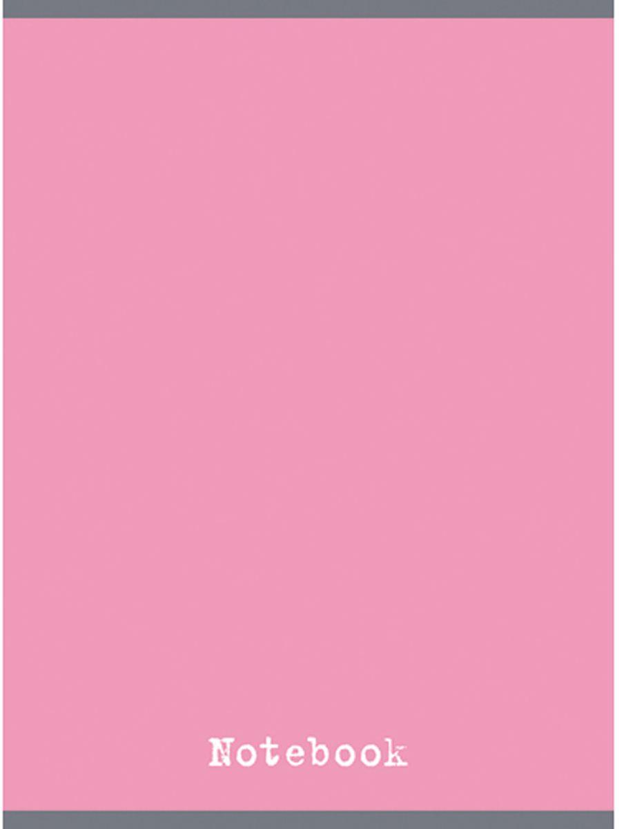 Канц-Эксмо Тетрадь 48 листов в клетку цвет розовый кварц формат А4ТГ4484278Тетрадь для конспектов А4 48л., скрепка, клетка, обложка: мелованный картон, глянцевая ламинация, печать по металлизированной пленке серебро, бумага офсетная 60 г/м2. Розовый кварц (48л., клетка)