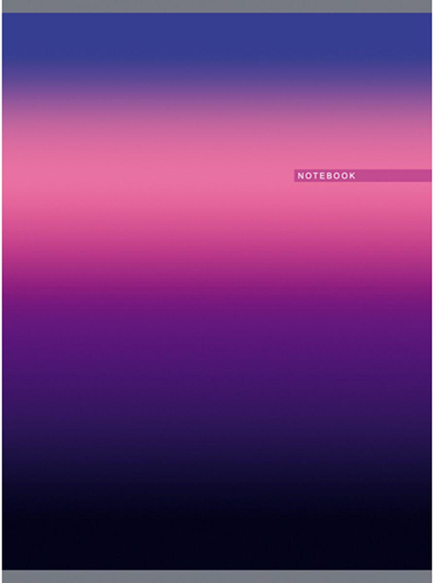 Канц-Эксмо Тетрадь Градиент 80 листов в клетку цвет фиолетовый формат А4ТГ4804279Тетрадь Канц-Эксмо Градиент формата А4 великолепно подойдет для конспектов и различных записей. Тетрадь имеет внутренний блок на скрепках из белой офсетной бумаги плотностью 60гр/м2 с разметкой в клетку. Обложка выполнена из мелованного картона с глянцевой ламинацией и печатью по металлизированной пленке серебро.