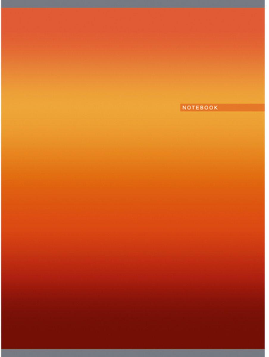 Канц-Эксмо Тетрадь Градиент 80 листов в клетку цвет оранжевый формат А42369577Тетрадь Канц-Эксмо Градиент формата А4 великолепно подойдет для конспектов и различных записей.Тетрадь имеет внутренний блок на скрепках из белой офсетной бумаги плотностью 60гр/м2 с разметкой в клетку. Обложка выполнена из мелованного картона с глянцевой ламинацией и печатью по металлизированной пленке серебро.