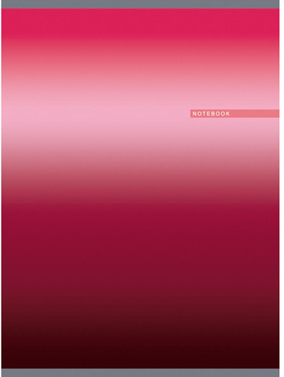 Канц-Эксмо Тетрадь Градиент 80 листов в клетку цвет малиновый формат А4ТГ4804283Тетрадь для конспектов Градиент формата А4, 80 листов в клетку. Обложка: мелованный картон, глянцевая ламинация, печать по металлизированной пленке Серебро. Внутренний блок бумага офсетная 60 г/м2.