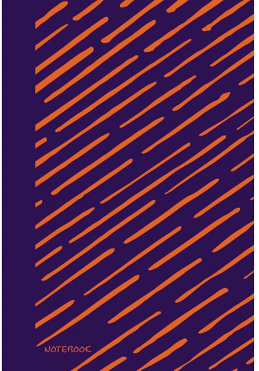Канц-Эксмо Блокнот Яркие штрихи 96 листов без разметки формат А5+ ЕТИ59680ЕТИ59680Книгa для записей (евроТетрадь) А5+(167х246), 96л, интегральный переплет, матовая ламинация, форзацы- двухстор. пантон, нелинованный блок., бумага 70гр/м Яркие штрихи (оранжевый) (167х246), 96 л. (без линовки)