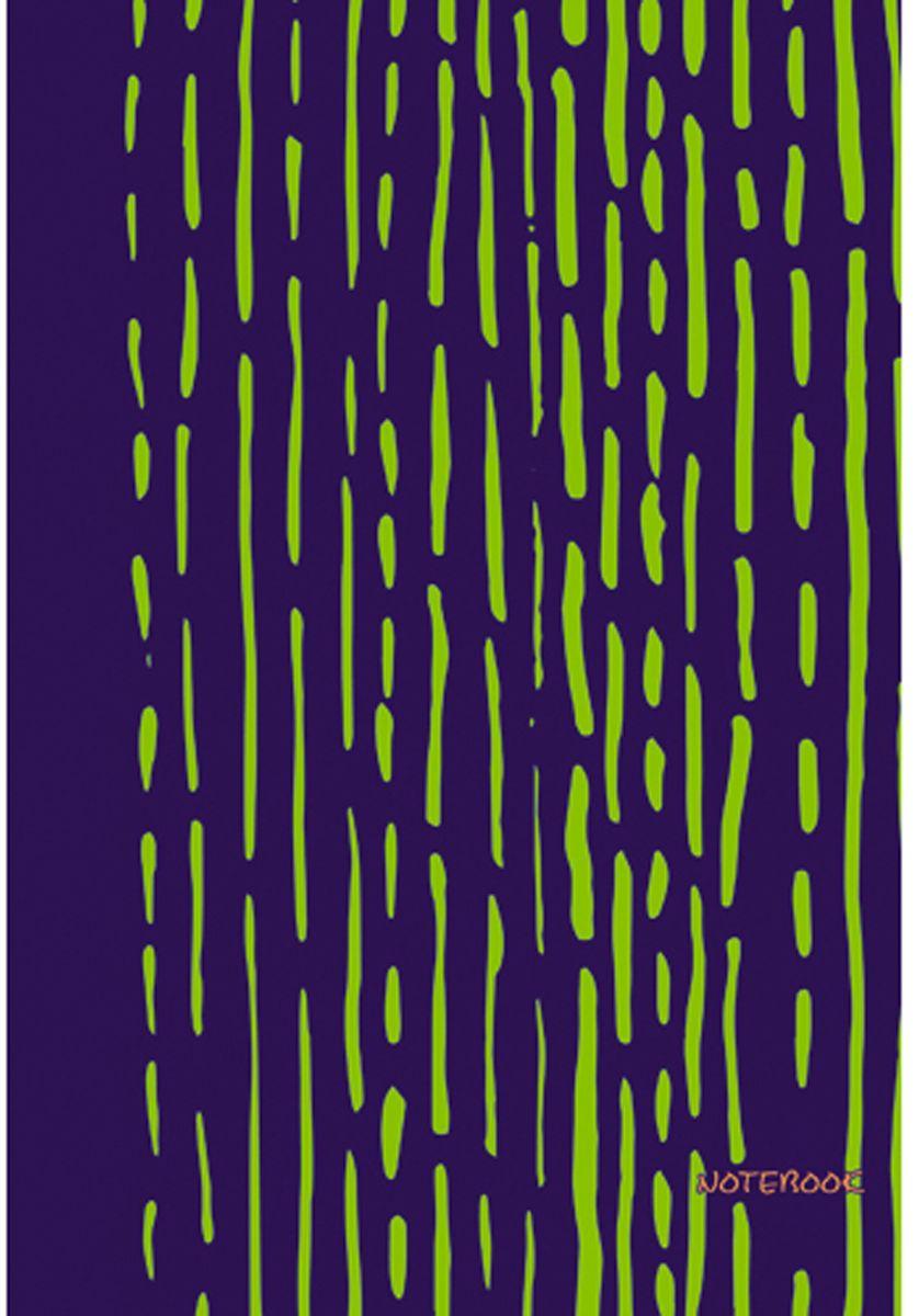 Канц-Эксмо Блокнот Яркие штрихи 96 листов цвет салатовыйЕТИ59682Блокнот Канц-Эксмо Яркие штрихи великолепно подойдет для записей, заметок и зарисовок. Формат А5+. Интегральный переплет, матовая ламинация форзацы - двухсторонний, пантонный, нелинованный блок. Внутренний блок - бумага офсетная 70гр/м, листы в клетку. Сшитый блок.