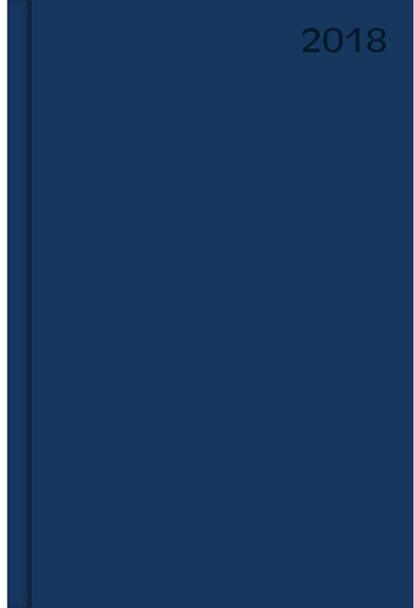 Канц-Эксмо Ежедневник датированный 176 листов цвет темно-синий формат А5ЕБ18517601Ежедневник датированный в интегральном переплете формата А5, 176 листов. Бумага офсет 60 г/м2. Обширный справочный материал: календарь на 4 года, цветные карты и др.