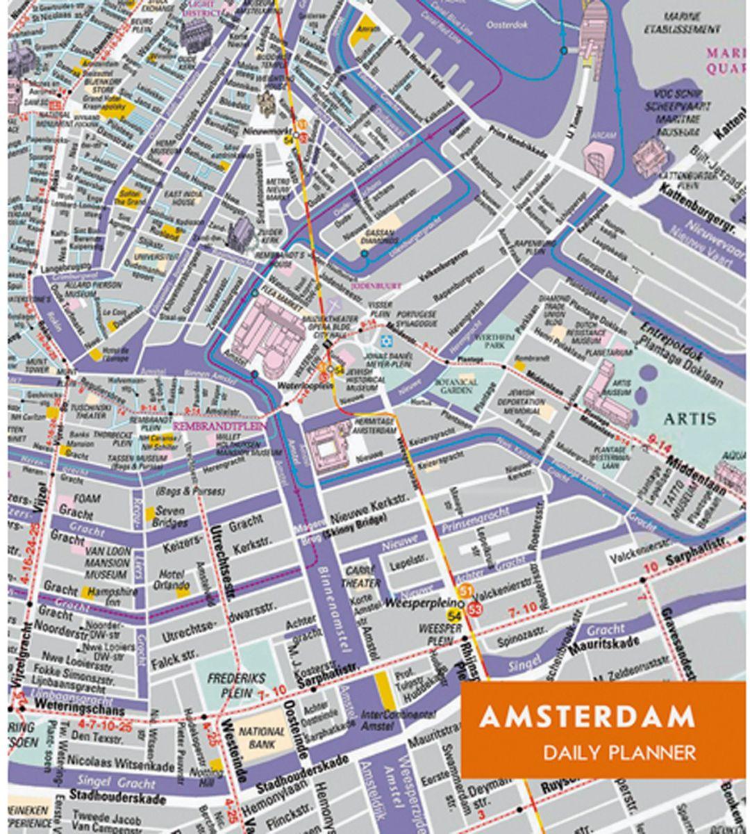 Канц-Эксмо Ежедневник Графика Карта Амстердам недтированный 128 листов формат А5 ежедневники канц эксмо творческий ежедневник а5 146х167 с раскрасками графика абстрактный узор 128 листов