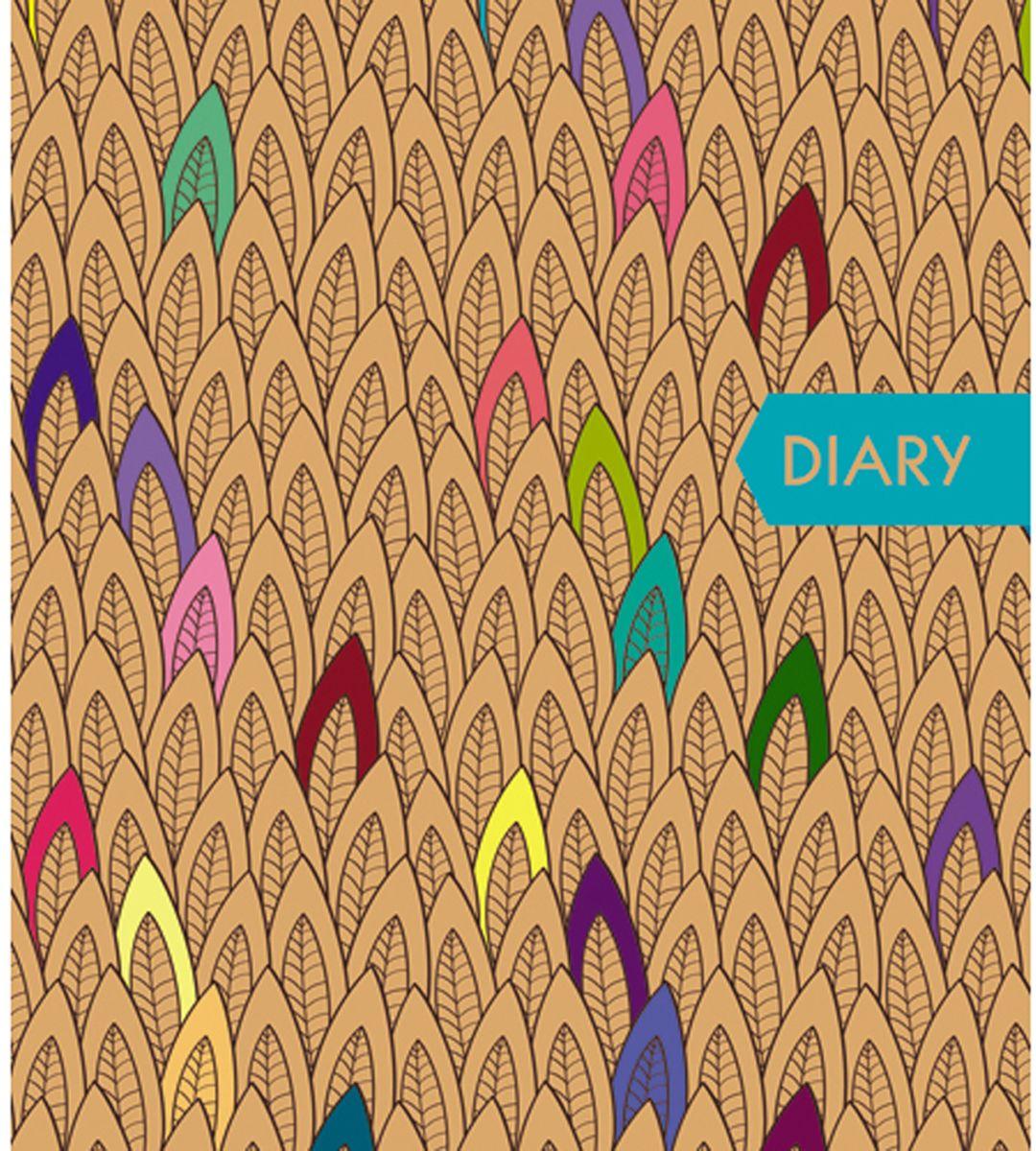 Канц-Эксмо Ежедневник Орнамент Яркий стиль недатированный 128 листов формат А5 ежедневник недатированный 128 листов графика акварельный орнамент 128л а5 канц эксмо