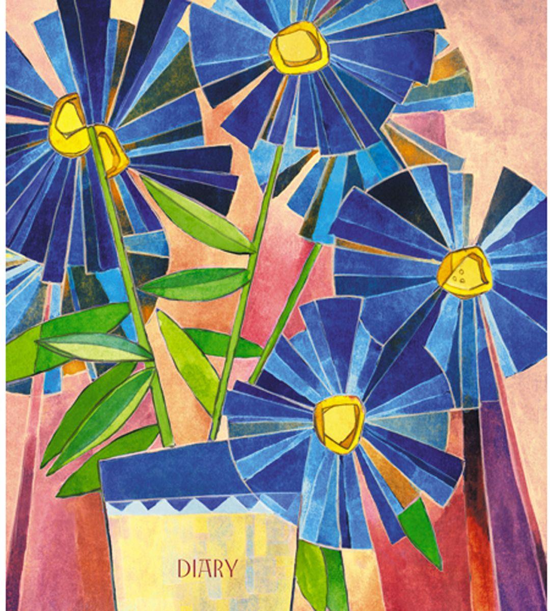 Канц-Эксмо Ежедневник Цветы 128 листовЕЖИ18512807Ежедневник 146х167 мм. недатированный, 128 л. интегральные, матовая ламинация. форзацы - белые, бумага - офсетная 60г/м2, Цветы. Акварель (А5, 128л. )