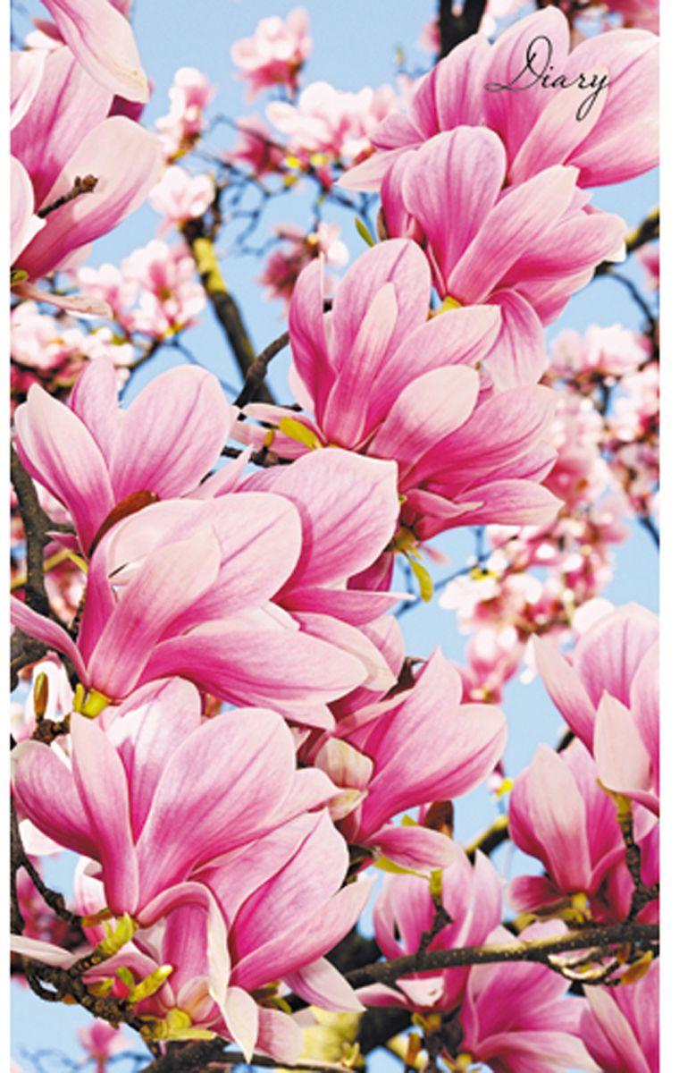 Канц-Эксмо Ежедневник Цветы Ароматы лета недатированный 112 листов формат А5ЕЖ18511207Ежедневник недатированный Цветы. Ароматы лета в красивом оформлении с изображением цветов, подходит для различных записей и заметок. Формат А5 (128 мм х 206 мм), 112 листов. Твердый переплет, матовая ламинация, форзацы - карта России/мира. Внутренний блок: бумага - офсетная 60 г/м2, справочный материал.