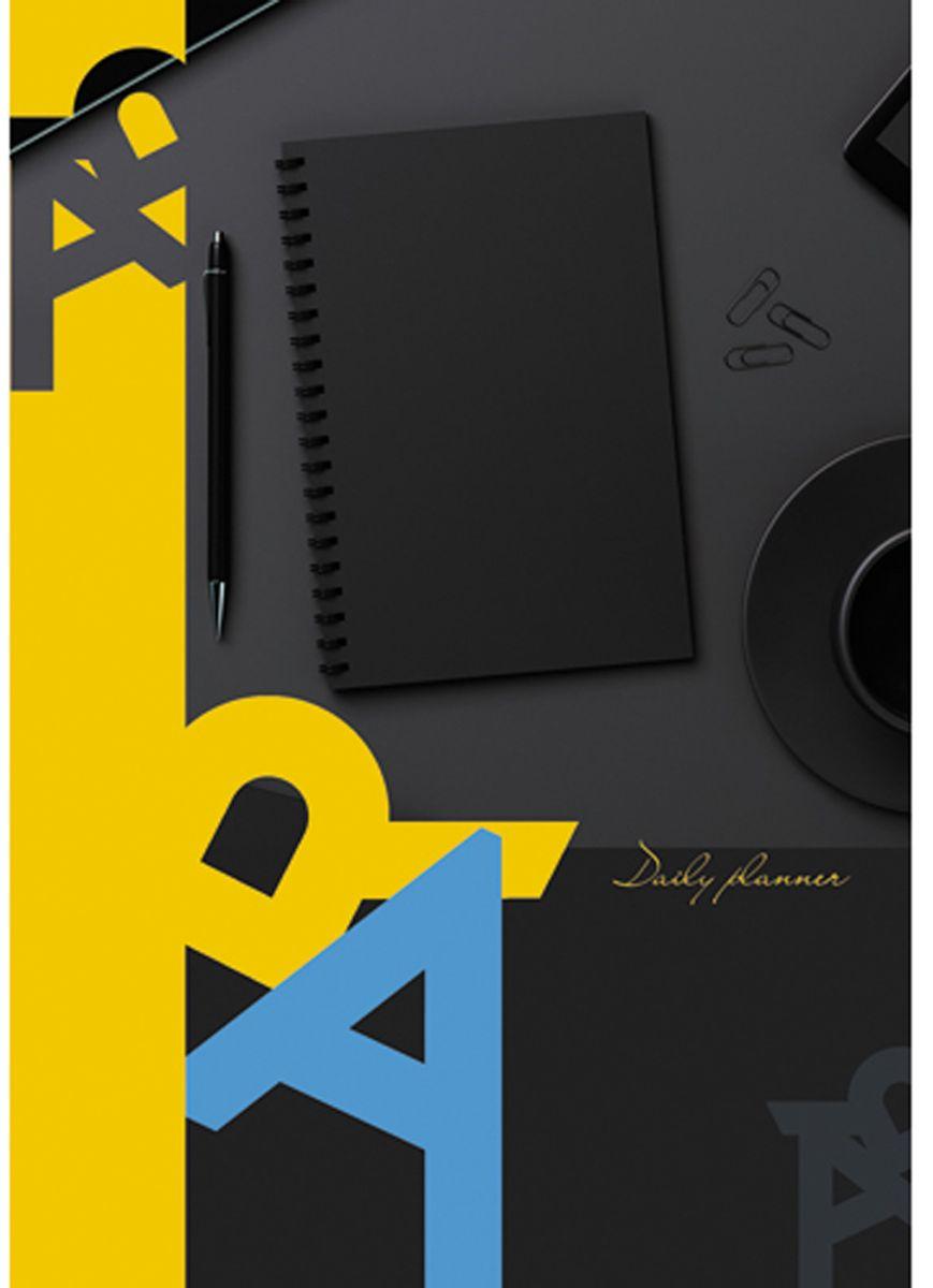 Канц-Эксмо Ежедневник Офисный стиль Бизнес недатированный 152 листа формат А5 listoff ежедневник мегаполис недатированный 152 листа