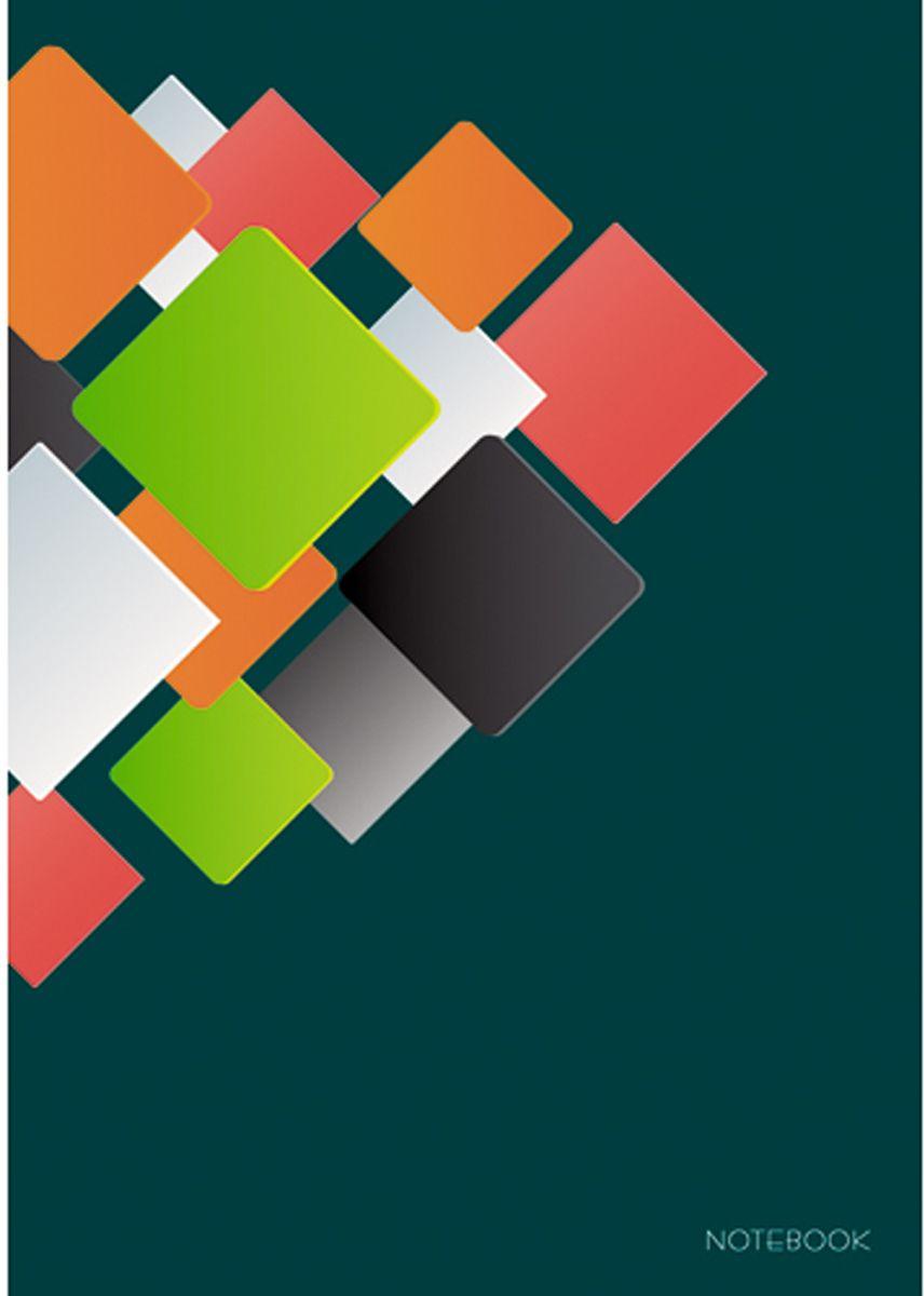Канц-Эксмо Блокнот Офисный стиль 80 листов в клетку формат А4 КЗ4802289КЗ4802289Книгa для записей А4 (210х290), 80л. глянцевая ламинация. форзацы - однотонные (белые), бумага - офсетная 60 г/м2, белая, клетка, сшитый блок. Офисный стиль. Яркая геометрия (А4, 80л. )