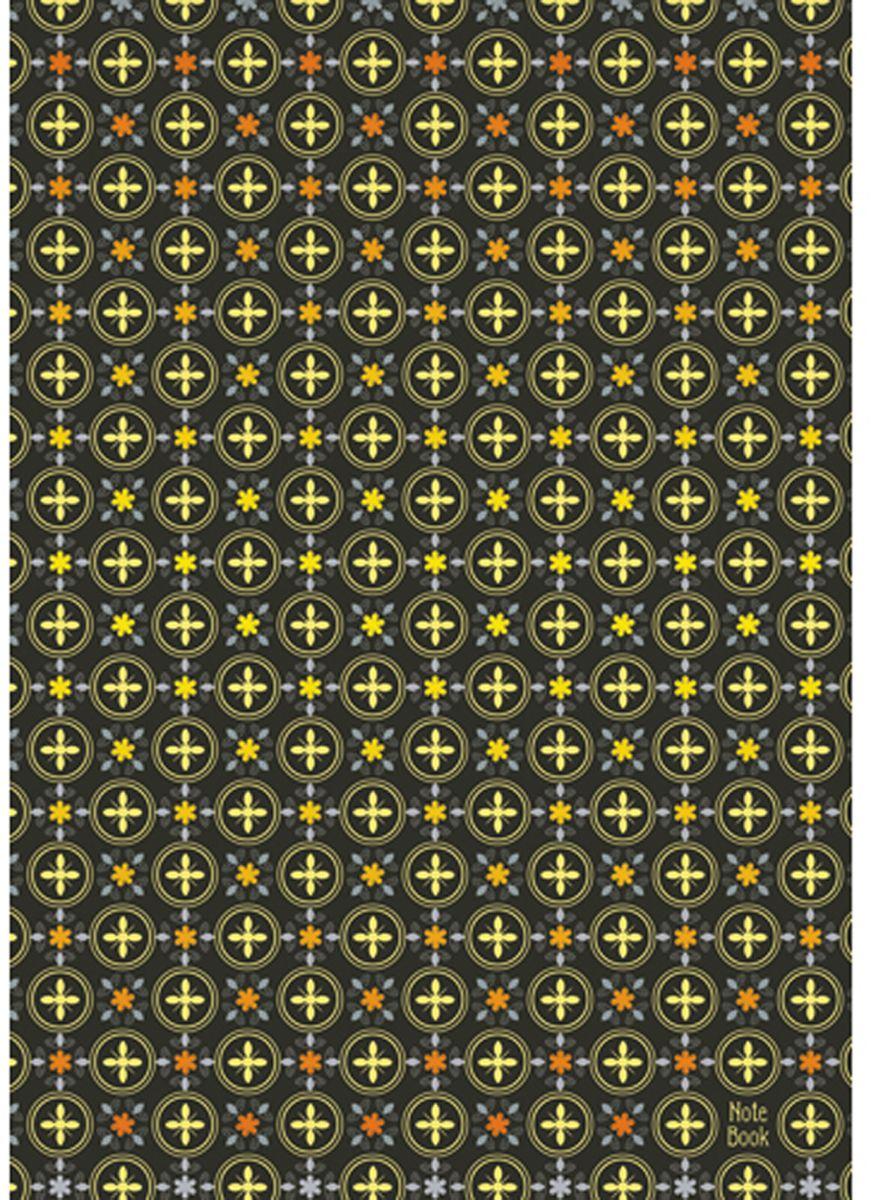Канц-Эксмо Блокнот Орнамент Золотой узор 200 листов записные книжки канц эксмо государственная символика книга для записей а4