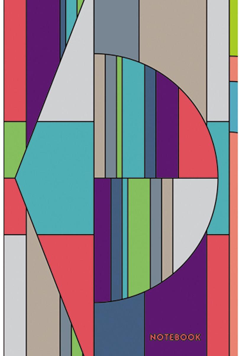 Канц-Эксмо Блокнот Графика Цвет и стиль 130 листов в клетку формат А5 блокнот серия natural формат а5 140 стр темно бордовый в клетку