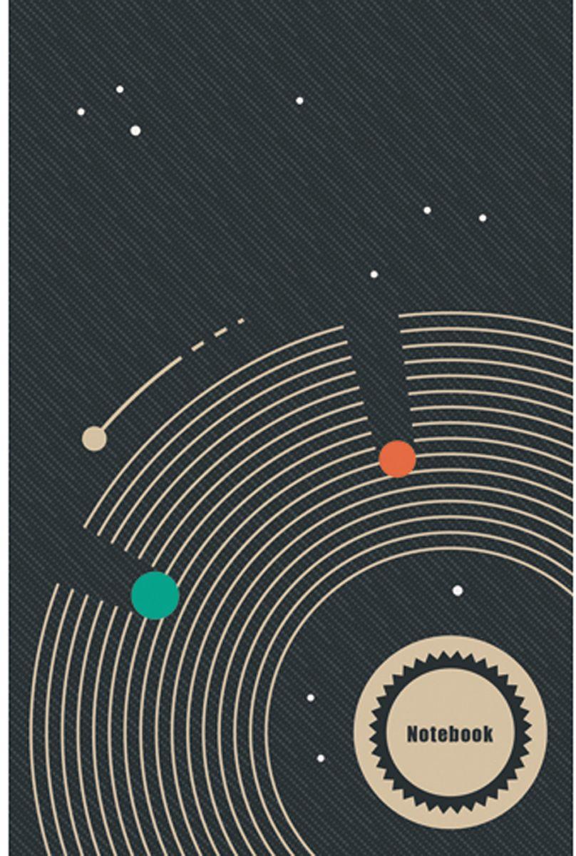 Канц-Эксмо Блокнот Графика Движение вперед 130 листов в клетку формат А5 блокнот серия natural формат а5 140 стр темно бордовый в клетку