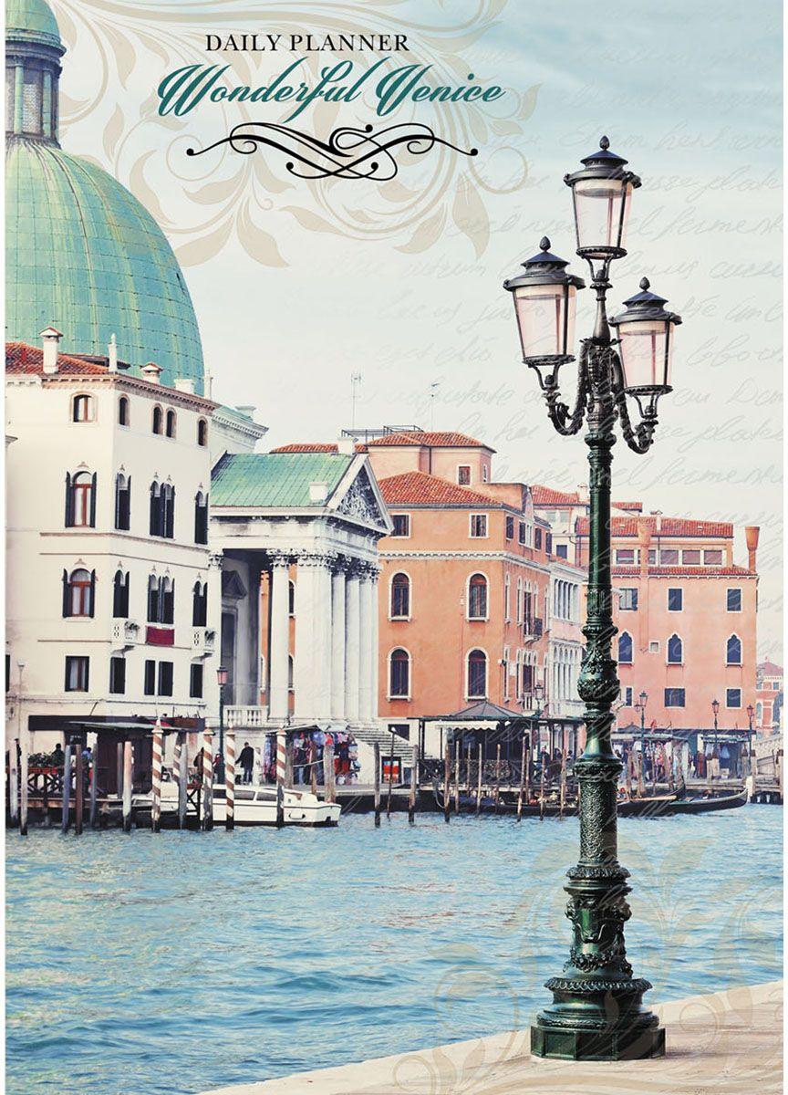 Канц-Эксмо Блокнот Вокруг света Венеция 160 листов в клетку формат А5 блокнот серия natural формат а5 140 стр темно бордовый в клетку