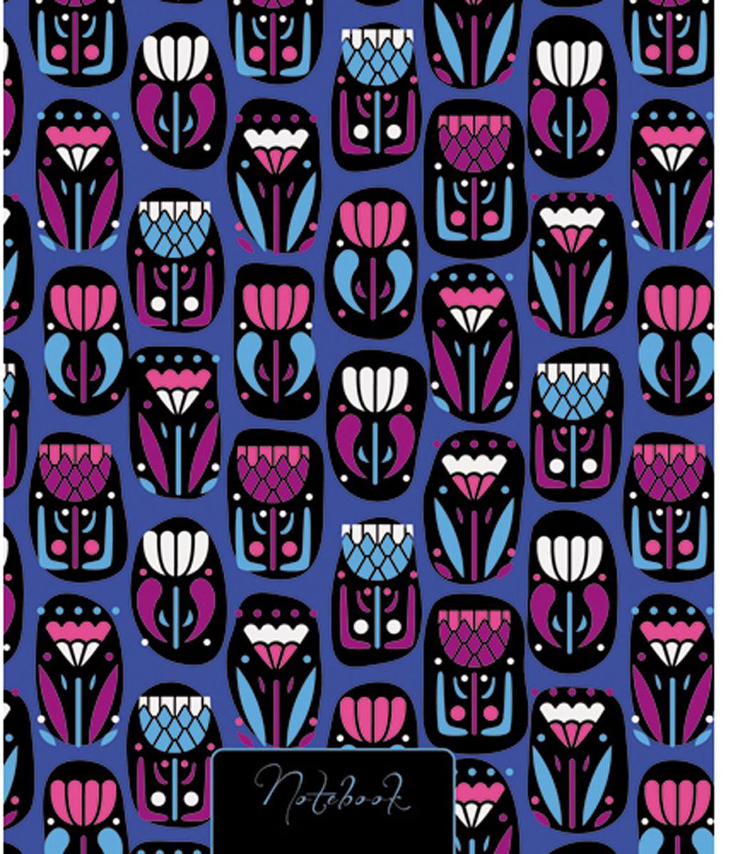 Канц-Эксмо Блокнот Орнамент Волшебство цветов 120 листов блокнот не трогай мой блокнот а5 144 стр