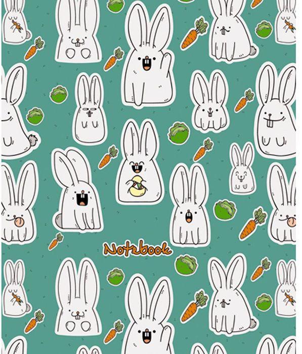 Канц-Эксмо Блокнот Орнамент Веселые кролики 120 листов в клетку формат А5-ЕТИ5120126Блокнот для записей Канц-Эксмо Орнамент. Веселые кролики формата А5-(146х167) великолепно подойдет для записей и заметок. Блокнот имеет сшитый внутренний блок из белой бумаги плотностью 60гр/м2 с разметкой в клетку. Интегральный переплет с матовой ламинацией дополнен белыми форзацами.