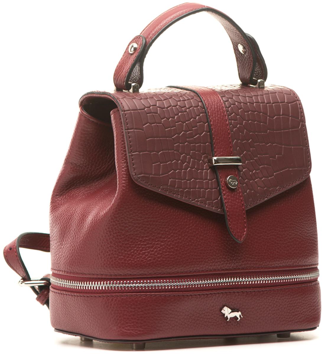 Сумка-рюкзак женская Labbra, цвет: бордовый. L-15869