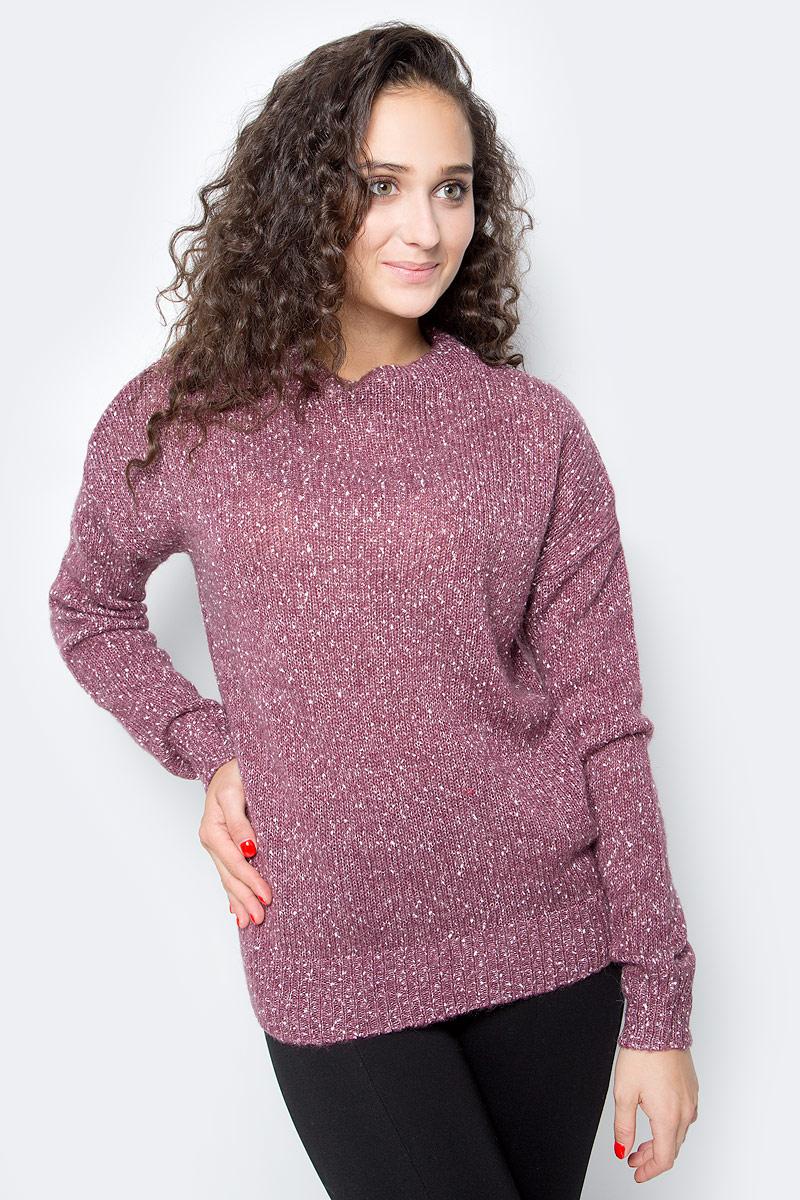 Джемпер женский Baon, цвет: розовый. B137580_Old Rose Melange. Размер M (46)
