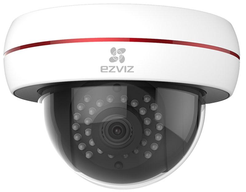 Ezviz C4S (Wi-Fi) IP-камера1600000360785Ezviz C4S - купольная Full HD камера с подключением по Wi-Fi, поддержкой карты памяти microSD до 128 ГБ, ночной съемкой до 30 метров, пыле- и влагозащитой IP66 и ударопрочностью IK10.Вы сможете разглядеть каждую деталь благодаря технологии WDR, которая автоматически корректирует баланс белого и позволяет создавать чёткое видео даже в условиях резко меняющегося освещения.Ezviz C4S может снимать чёткое видео даже глубокой ночью. Инфракрасная подсветка автоматически включается в темноте, обеспечивая вашу безопасность. Круглосуточная запись возможна благодаря ИК-подсветке с эффективной дальностью до 30 метров.Камера не только полностью защищена от воздействия воды и пыли по стандарту IP66, но и полностью соответствует требованиям антивандального стандарта IK10.Созданный по технологическому процессу 28 нм новейший процессор Ambarella потребляет меньшее количество энергии, обеспечивая при этом оптимальную производительность.Как выбрать камеру видеонаблюдения для дома. Статья OZON Гид