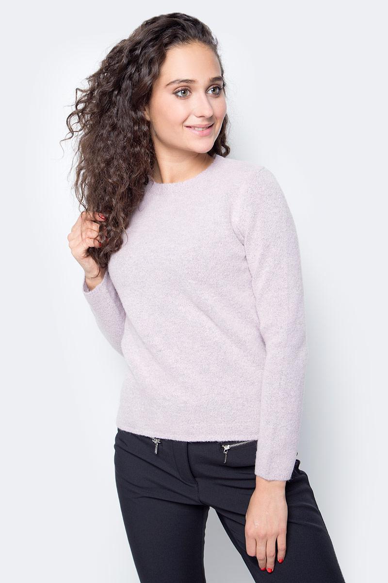 Джемпер женский Baon, цвет: розовый. B167503_Old Rose Melange. Размер L (48) джемпер женский baon цвет бежевый b137564 muscovite melange размер l 48