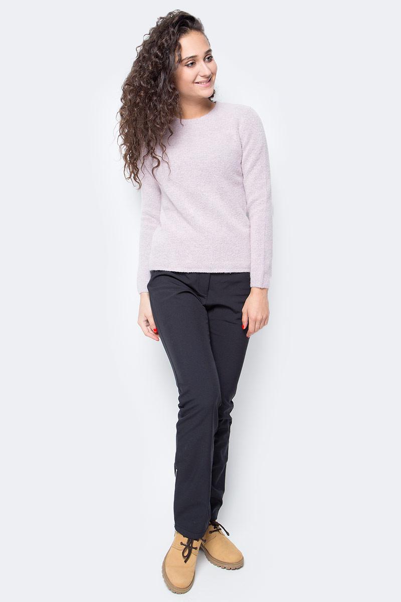 Джемпер женский Baon, цвет: розовый. B167503_Old Rose Melange. Размер L (48) платье baon цвет серый b457530 silver melange размер l 48