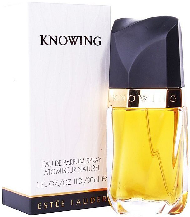 Estee Lauder Knowing парфюмерная вода, 30 мл2555Knowing Estee Lauder - это аромат для женщин, принадлежит к группе ароматов шипровые цветочные. Knowing выпущен в 1988. Парфюмер: Jean Kerleo. Верхние ноты: Альдегиды, мимоза, кориандр, Тубероза, Дыня, слива, зеленые ноты, роза; ноты сердца: Апельсиновый цвет, Лавр, пачули, Корень ириса, жасмин, Ландыш, кедр, кардамон; ноты базы: Специи, сандал, амбра, пачули, мускус, Циветта, Корень ириса, мох и ветивер.Краткий гид по парфюмерии: виды, ноты, ароматы, советы по выбору. Статья OZON Гид