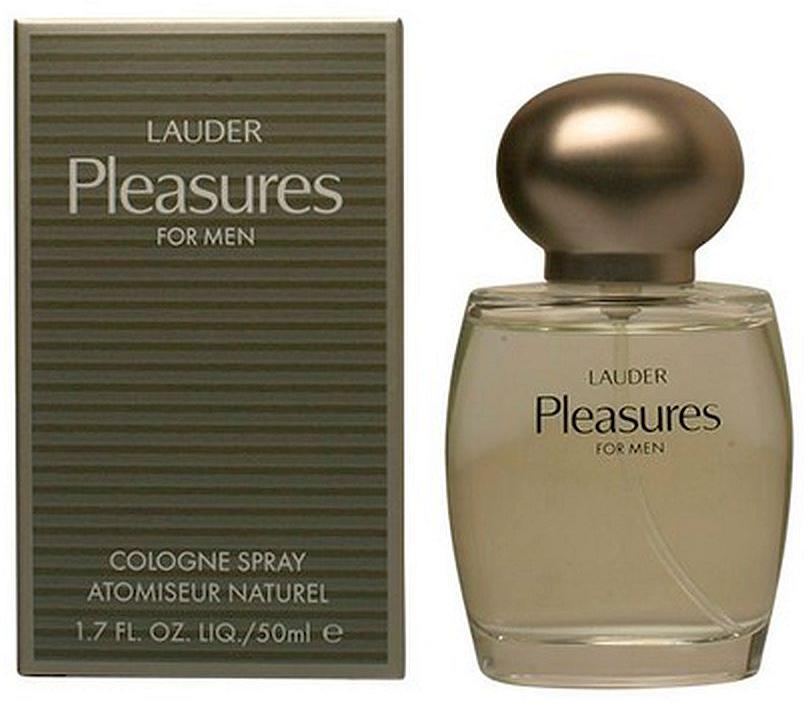 Estee Lauder Pleasures man одеколон, 50 мл2582Мужской аромат Pleasures For Men от бренда Estee Lauder – это пряный, фужерный парфюм, выпущенный в 1997 году парфюмером Pierre Wargnye. Благодаря изумительному сочетанию редких пород древесины, свежих цитрусовых и оригинального воздушного аккорда, парфюм Pleasures For Men от Estee Lauder обволакивает Вас пряным, уютным теплом, прохладой и свежестью, а также заряжает жизненной энергией.Композиция включает в себя: цитрусовые, нектарин, водянистая зелень свежих листьев, грейпфрут, воздушный аккорд, семена кориандра, лаванда, красный имбирь, стручковый перец, герань, роза, сандаловое дерево, бензоин, эбеновое дерево и дубовый мох.Краткий гид по парфюмерии: виды, ноты, ароматы, советы по выбору. Статья OZON Гид