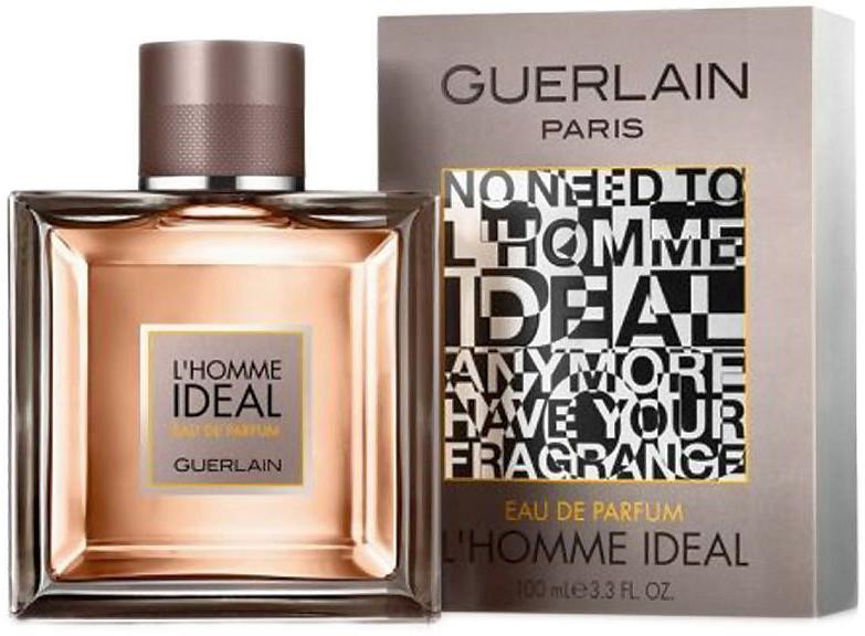 Guerlain L homme Ideal парфюмерная вода, 50 мл970524Парфюм L'Homme Ideal Eau de Parfum – рисует образ идеального мужчины, умного, стильного, галантного, уверенного, целеустремленного, который всегда в центре внимания и очаровывает своей несравненной харизмой. Аромат является новинкой французского бренда Guerlain, он выпущен в начале 2016 года, создан двумя прекрасными парфюмерами Thierry Wasser и Delphine Jelk, воплотившие в нем все те качества, которые не оставят равнодушной ни одну женщину. Флакон парфюма– сама элегантность. Его четкие герметичные формы, толстое стекло выглядят достаточно солидно, передающие всю статность и благородство аромата. Парфюм начинается со свежих пикантных нот бергамота, маслянистых аккордов сладкого миндаля, слегка приправленных дорогими восточными специями. Далее он наполняется ароматным, сладко-дымным благоуханием болгарской розы, искушающей ванили и бальзамическими нюансами оригинального ладана. Густой шлейф парфюма из нот сандала, бобов тонка и кожи, дарит уверенность в себе и умиротворяет заманивая в свои сети представительниц прекрасного пола.