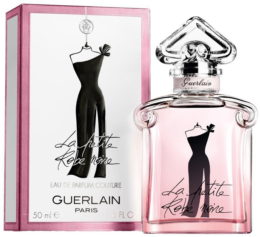 Guerlain La Petite Robe Noire Couture lady парфюмерная вода, 50 мл960465Аромат описывается как цветочно-фруктовый, живой, игристый и несколько эксцентричный, сохраняющий узнаваемые гурманские черты оригинальной композиции. Верхние ноты включают сверкающий бергамот и малину, которая является основным фруктовым акцентом этой версии. В сердце композиции царствует роза, а ее шипровая база создана из пачули, ветивера, бобов тонка и мха.