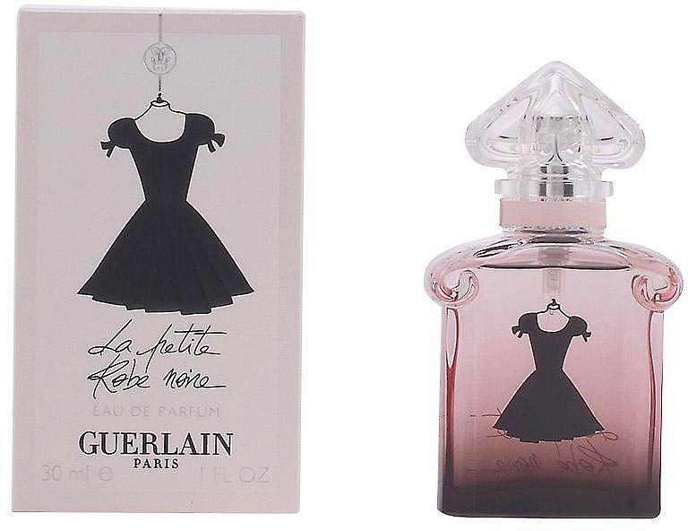 Guerlain La Petite Robe Noire lady парфюмерная вода, 30 мл955912Дом Guerlain представляет дерзкий и соблазнительный аромат La Petite Robe Noire в новой версии парфюмерной воды! Искрящийся, страстный и в то же время необыкновенно изысканный, он оставляет безупречный, притягательный шлейф, который непременно сведет с ума любого мужчину… Юная, понятная розовая нота в сочетании с нотами черной черешни - магическая ольфактивная мелодия! Бергамот обеспечивает чувственность, а драгоценный союз свежих и ярких абсолю болгарской и турецкой розы, как сочный рахат-лукум и вкусные цукаты - никого не оставят равнодушным! Чёрная нота – богатая и глубокая, шикарная, благородная и притягательная, открывает темные соблазны пачули, лакричника, бобов тонка и дымного черного чая Лапсанг. Неподражаемая Герлинада придаёт аромату таинственную харизму.