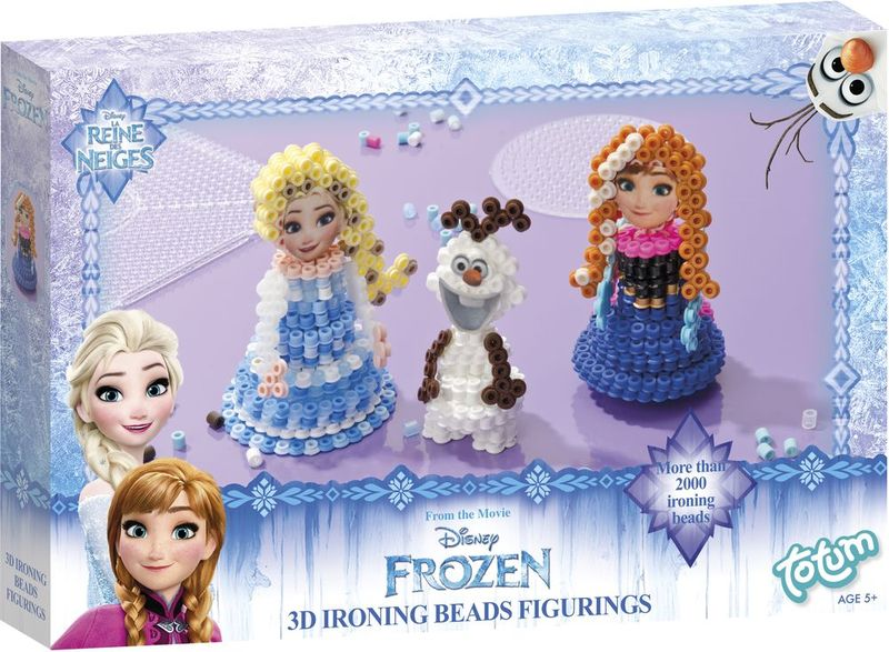 Totum Набор для изготовления игрушек Frozen 3d Ironing Beads Figures - Игрушки своими руками