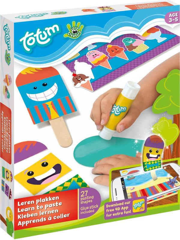 Totum Набор для творчества Little Creators Learn To Paste
