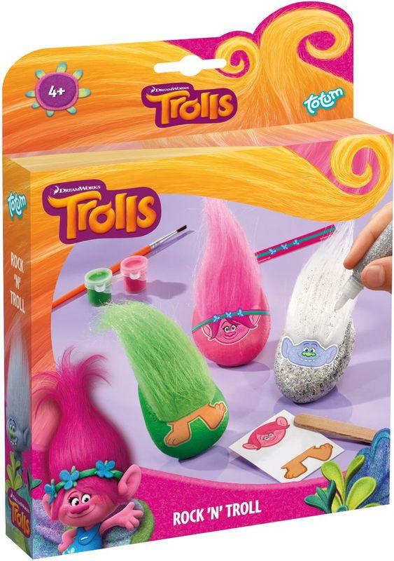 Totum Набор для изготовления игрушек Trolls Rock'n Roll полки для игрушек в детскую купить