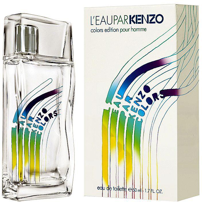 Kenzo Leau Par Kenzo Colours man туалетная вода, 50 мл989Этой зимой Kenzo раскрашивает зиму новыми красками. Дерзкое стремление к свободе рождает новые вариации классических ароматов - непринужденные, наполненные радостью, яркие и освежающие. L Eau par Kenzo превращается в L Eau par Kenzo Colors - свободную, воздушную, праздничную воду. Находясь в постоянном круговороте, она бурлит, бьет фонтаном и взлетает свежим ярким вихрем. L Eau par Kenzo Colors - парные ароматы, пронизанные вибрациями города, яркие, излучающие энергию и радость. Танец, от которого захватывает дух! Парфюмеры творили ароматы друг для друга: Орельен Гишар создал женский аромат, а Александра Косински - мужской. Для нее: Нежный, свежий, искрящийся акватический аромат с фруктовыми и цветочными аккордами. Ноты белого персика и мандарина сплетаются с нежностью лепестков жасмина. Сияющие верхние ноты: Нектар персика, мандарин, имбирь Цветочные ноты сердца: Лепестки жасмина, роза, ландыш Окутывающие базовые ноты: Кедр, белый мускус.Краткий гид по парфюмерии: виды, ноты, ароматы, советы по выбору. Статья OZON Гид