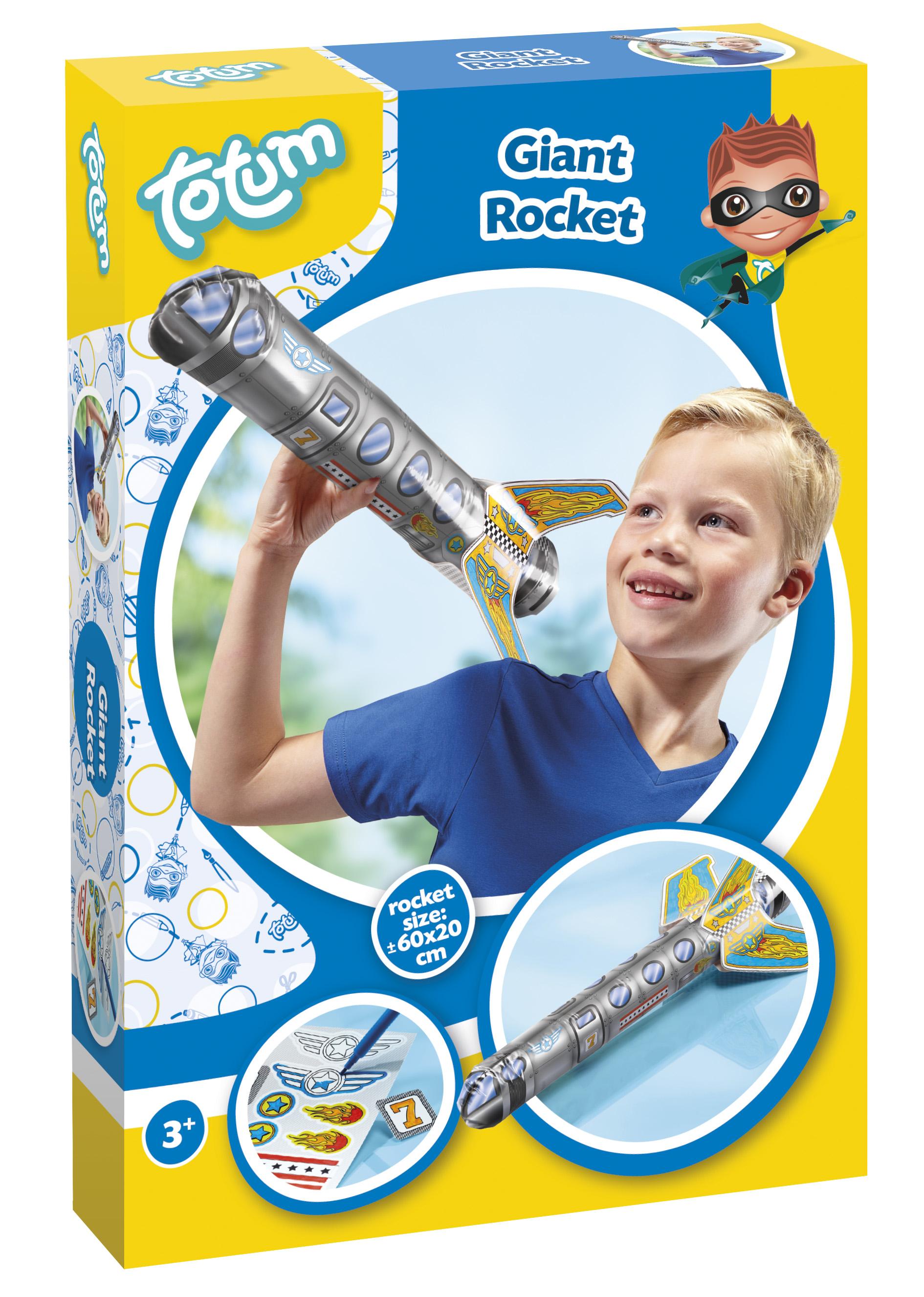 Totum Набор для изготовления игрушек Гигантская ракета Giant Rocket