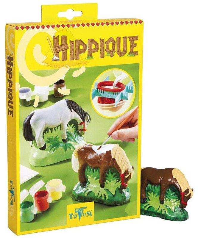 Totum Набор для изготовления игрушек Hippique наборы для творчества lori набор для изготовления барельефов из гипса мотоциклы