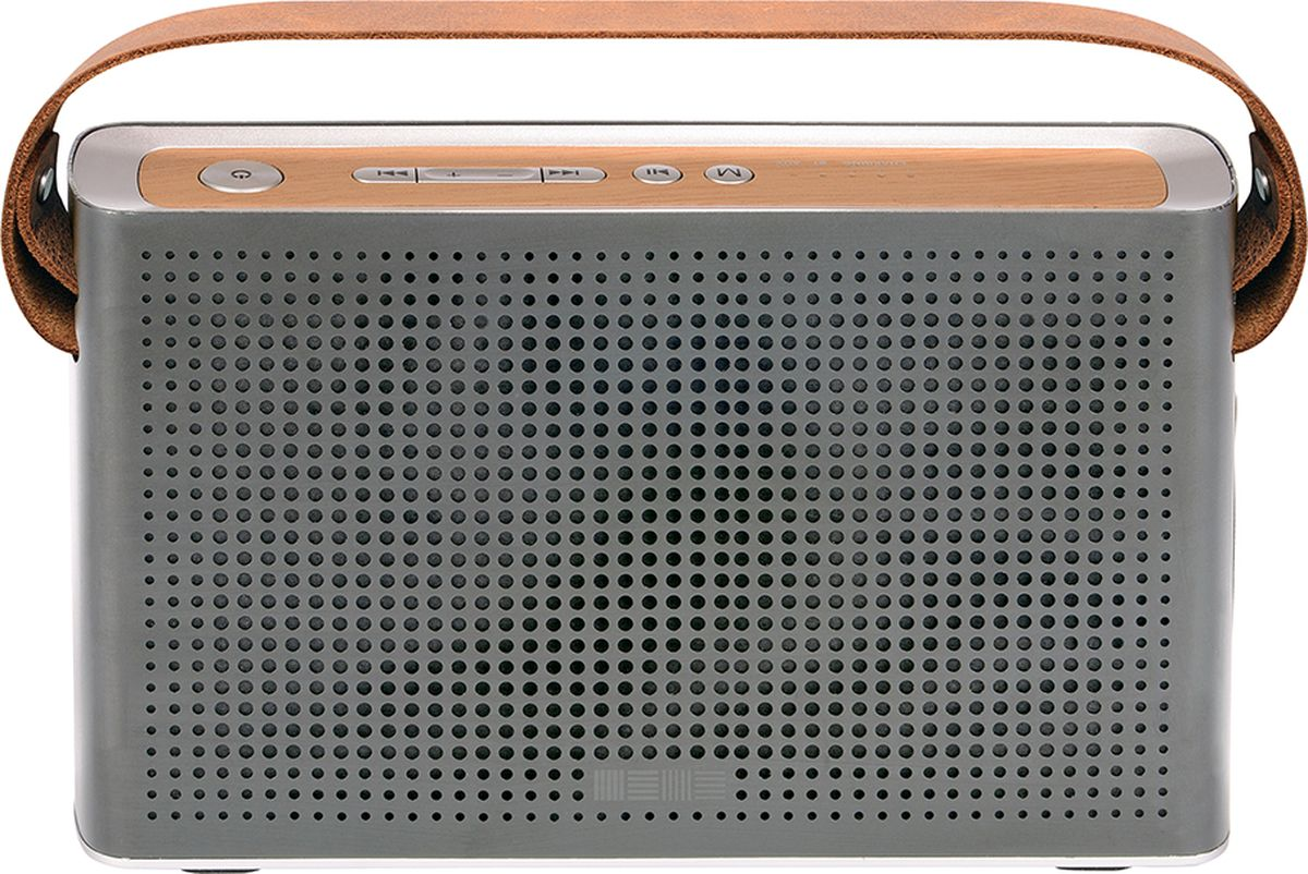 Interstep SBS-230, Metal Silver портативная акустическая система колонка interstep sbs 150 funny bunny light blue