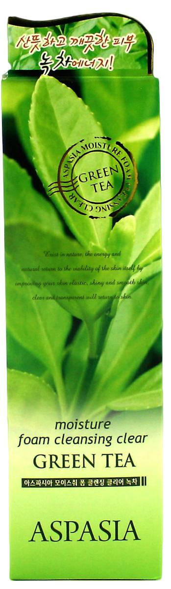 Aspasia Пенка для умывания зеленый чай, 180 мл282947Очищающая пенка для лица обладает вяжущими и смягчающими свойствами, способствует заживлению повреждений кожи. Экстракт зеленого чая сужает поры и оказывает противовоспалительное и антибактериальное действие.Контролирует выделение избыточного кожного жира и дарит коже ощущение свежести