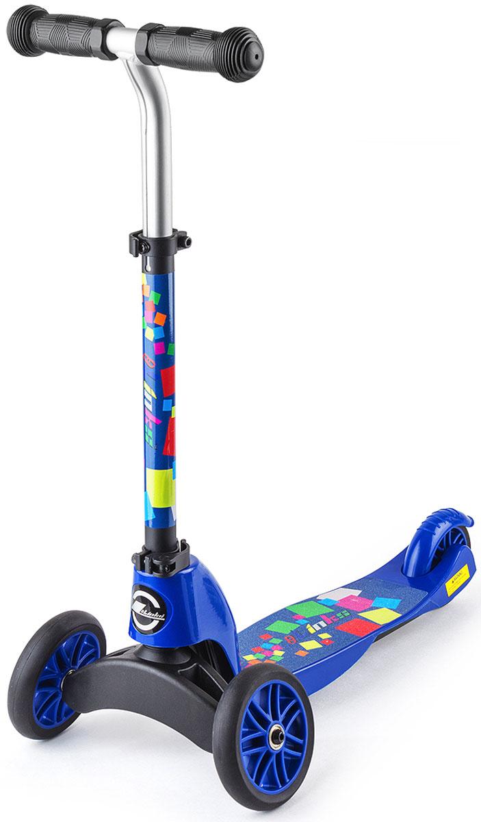 Cамокат-трансформер Small Rider Maestro. 2 в 1, цвет: синий1150917Small Rider Maestro - это уникальный самокат-трансформер, который из трехколесного самоката превращается в двухколесный. Для этого достаточно сменить переднюю вилку с двумя колесами на одноколесную.Пусть ваш ребенок будет настоящим маэстро катания, который быстро освоится и с трехколесным, и с двухколесным самокатом. Благодаря ему вы не будете затягивать с приобретением двухколесного самоката, а сразу переключитесь в него, когда это будет нужно и сэкономите, купив модель 2 в 1. Самокат предназначен для широкого возрастного диапазона - от 2 до 6 лет. Сначала он используется в трехколесном, более устойчивом варианте, а затем, по мере роста навыков, вы трансформируете его в двухколесный самокат. В отличие от многих других трехколесных самокатов, которые поворачивают с помощью наклонов, Small Rider Maestro один из не многих, где поворот происходит за счет руля как у обычного двухколесного самоката.Колеса сделаны из ПВХ, и имеют диаметр 120 мм - оптимальный размер для первого самоката. С помощью заднего ножного тормоза ребенок сможет контролировать скорость. Самокат предназначен для широкого возрастного диапазона, и поэтому, конечно же, он имеет выдвижную ручку и несколько положений настройки высоты руля.Кстати, сама форма руля тоже интересная, выгнутая вперед, что очень удобно. На самокатах детям рекомендуется кататься в шлеме и защите. Собирать самокат должен взрослый. Проверяйте перед каждой поездкой, чтобы самокат было надежно собран и зафиксирован. Не катайтесь в темное время суток или вблизи опасных мест.