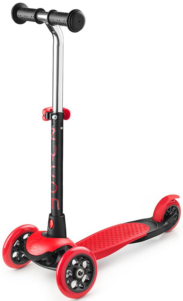 Самокат Zycom  Zing Mini , 3-колесный, с вынимаемой ручкой, цвет: красный - Самокаты